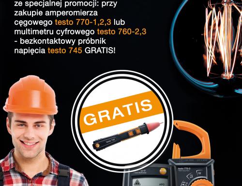 Promocja TESTO, Międzynarodowy Dzień Elektryka 08-10.06